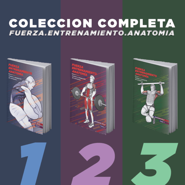 Pack Fuerza Entrenamiento Anatomia